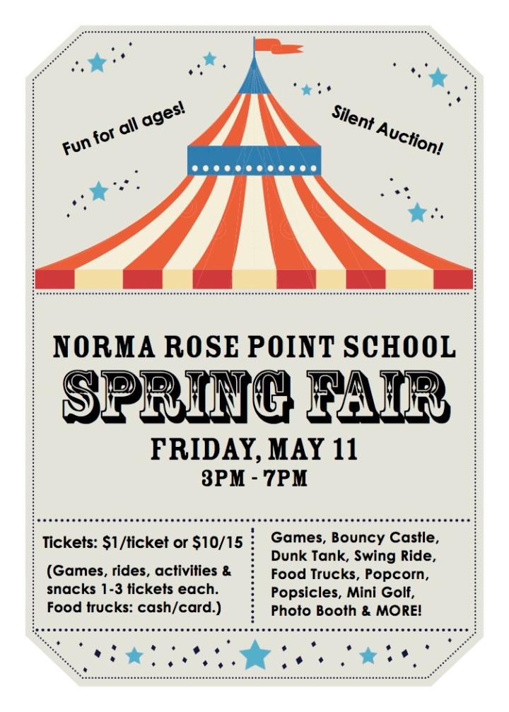 spring fair postercard